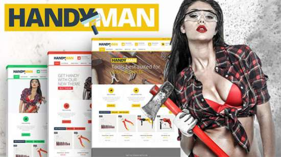 handyman prestashop company construction theme
