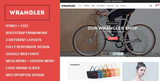 wrangler multipurpose prestashop theme