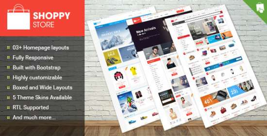 shoppy store responsive prestashop theme