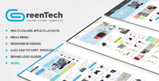 greentech shopping responsive prestashop theme