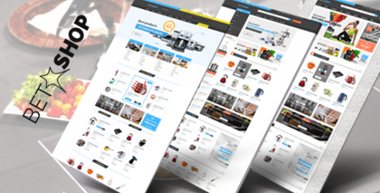 betashop kitchen appliances prestashop theme