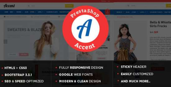accent responsive multipurpose prestashop theme