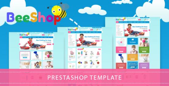beestore responsive prestashop kids theme
