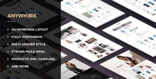 leo anywhere responsive prestashop theme