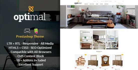 optimal prestashop responsive theme