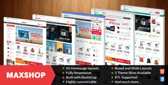 maxshop multipurpose responsive prestashop theme