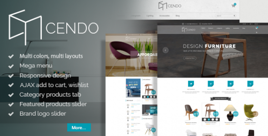 cendo responsive prestashop furniture theme