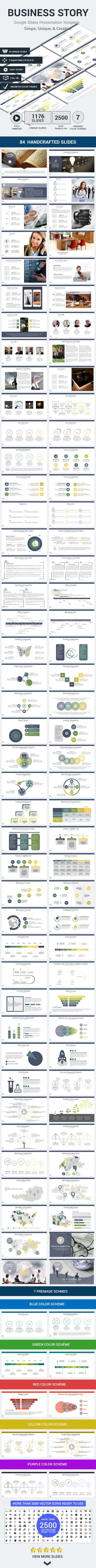 business tale google slides presentation template