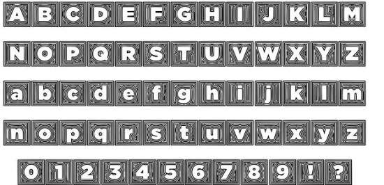 batmans trip groovy fonts