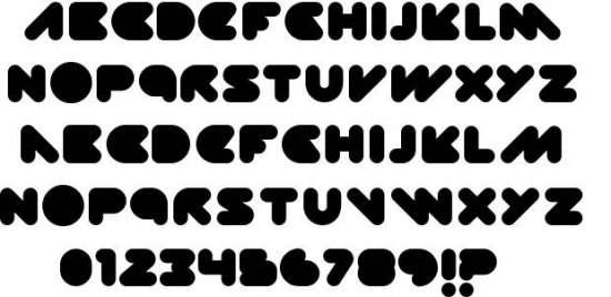 diskopia groovy fonts