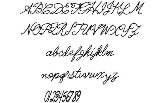 radical llamas handwritten fonts