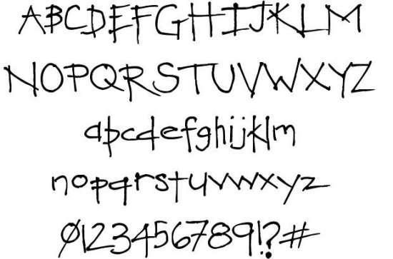 love you heaps handwritten fonts