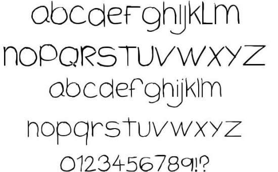 cloutier script handwritten fonts