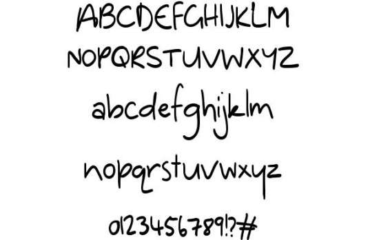 dinosaur handwritten fonts