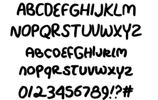 rocky creek handwritten fonts