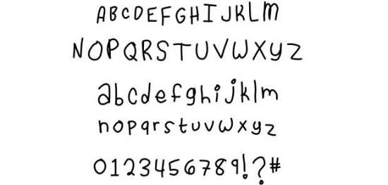 cassidy loves you handwritten fonts
