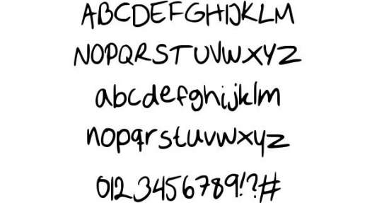 sofie 2 handwritten fonts