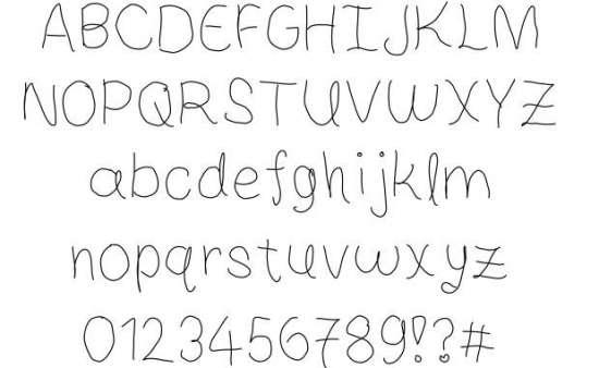 sweet life handwritten fonts