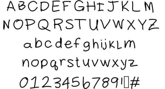 daddy handwritten fonts