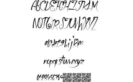 school party handwritten fonts