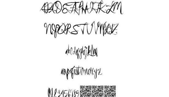 event shark handwritten fonts