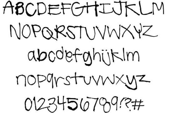 summer handwriting handwritten fonts