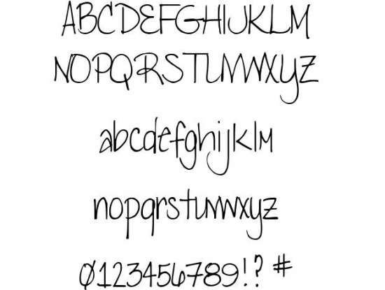 djb lena handwritten fonts
