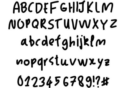 jacks handwritten fonts