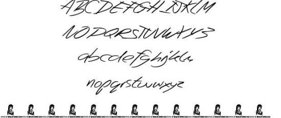 beep beep handwritten fonts