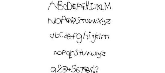 jesse 5 handwritten fonts