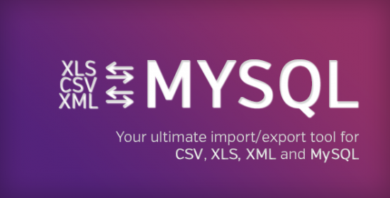 ultimate db importexport csvxlsxxmlmysql