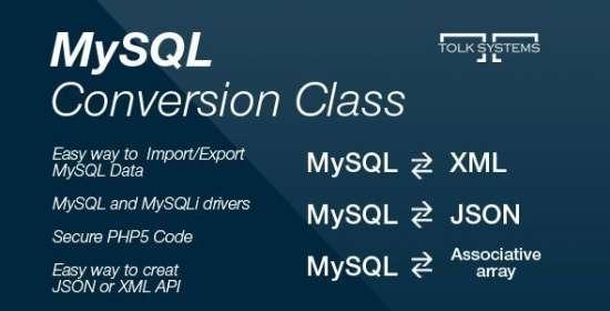 mysql conversion class