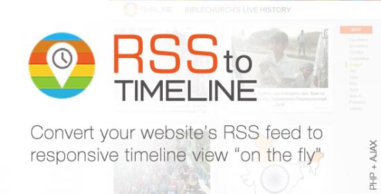rss schedule responsive feedreader