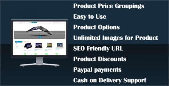 ecom cart a php shopping cart application