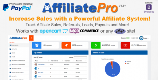 affiliate pro affiliate management system