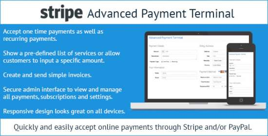 stripe higher level payment terminal