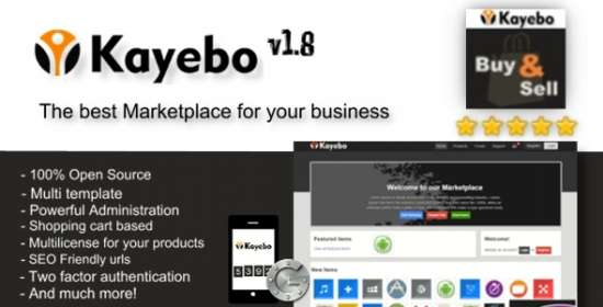 kayebo php digital marketplace script