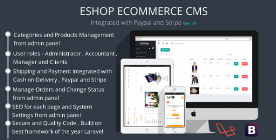 eshop e-commerce cms