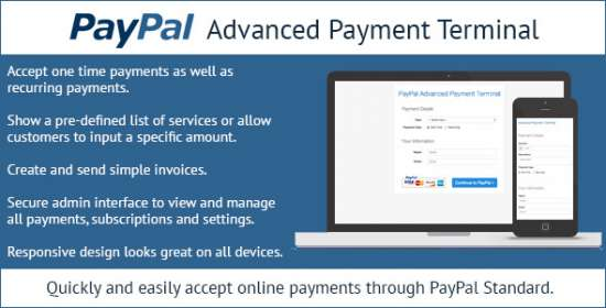 paypal higher level payment terminal