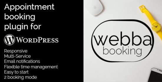 appointment booking for wordpress webba booking
