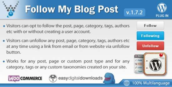 follow my article wordpress plugin
