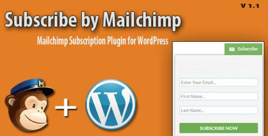 subscribe by mailchimp wordpress plugin