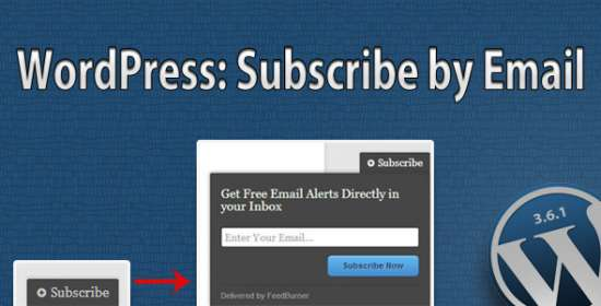 subscribe by e-mail plugin for wordpress